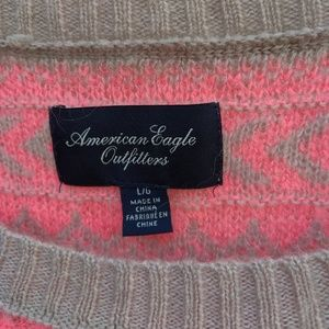American Eagle Outfitters Sweaters - Bright pink Sweater